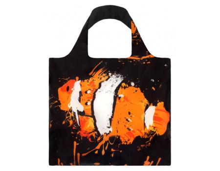 Многоразовая сумка LOQI Fish-Toucan