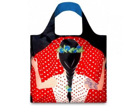 Многоразовая сумка LOQI FASHION - Flashing Girl