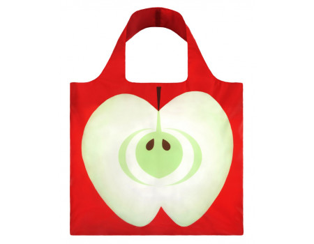 Многоразовая сумка LOQI FASHION - Frutti Apple