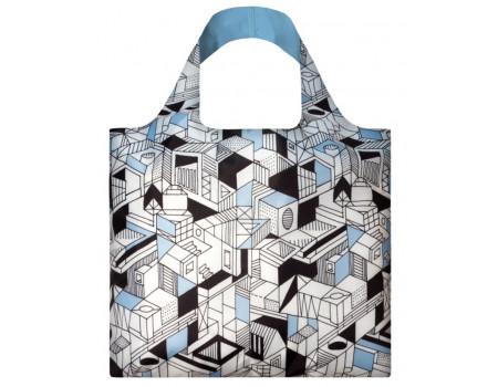 Многоразовая сумка LOQI FASHION - Pen Art City
