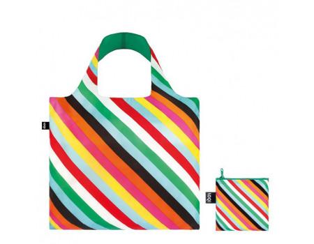 Многоразовая сумка LOQI Pop Stripes