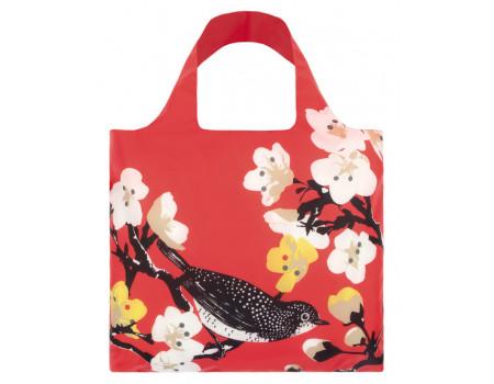 Многоразовая сумка LOQI Prima Cherry