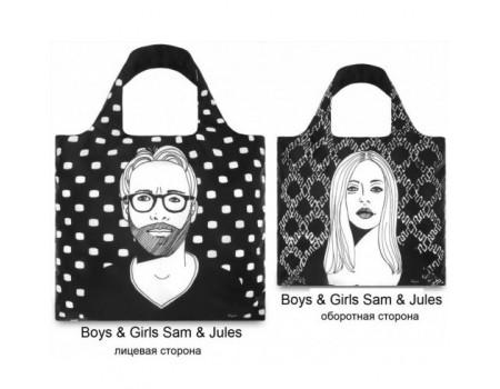 Многоразовая сумка LOQI FASHION - Sam - Jules