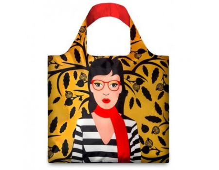 Многоразовая сумка LOQI FASHION - Snake Lady