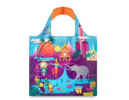 Многоразовая сумка LOQI Urban Thailand