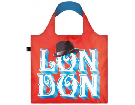 Складная сумка из ткани LOQI FASHION - Alex Trochut London