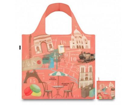Многоразовая сумка LOQI Urban Paris
