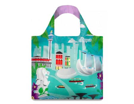 Многоразовая сумка LOQI Urban Singapure