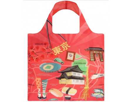 Многоразовая сумка LOQI Urban Tokyo